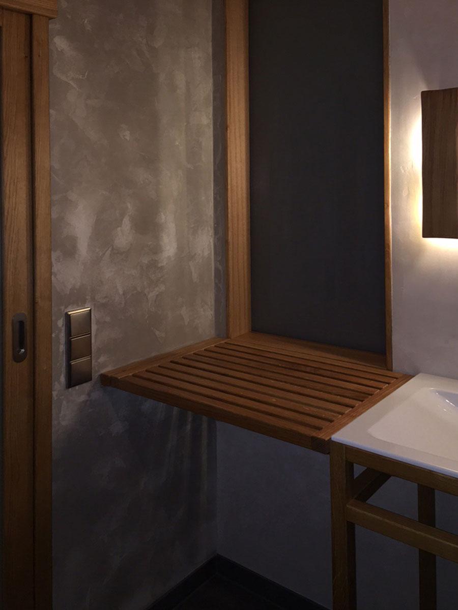 Badezimmer ablage schreinerei ulla erkes - Badezimmer ablage ...
